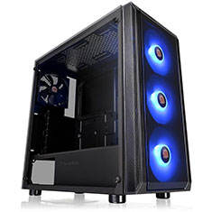 Thermaltake Versa J23 TG RGB Edition Mid Tower Chassis