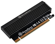 SilverStone ECM23 M.2 to PCIe Adapter