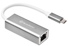 SilverStone EP13C USB 3.1 Type-C to RJ45 Network Adapter