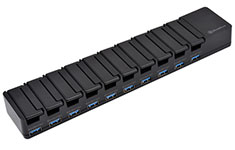 SilverStone UC04B-PRO 10-Port Charging Station