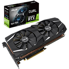 ASUS GeForce RTX 2080 Ti Dual Fan Advanced Edition 11GB