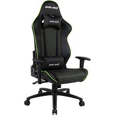 Anda Seat AD4-07 Gaming Chair Black/Green
