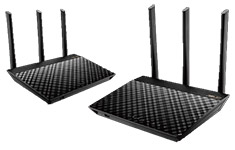 ASUS RT-AC67U AiMesh Twin Pack