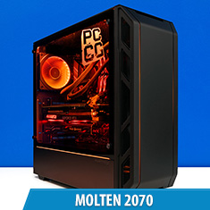 PCCG Molten 2070 Gaming System