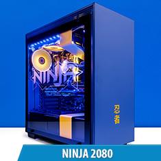 PCCG Ninja 2080 Gaming System