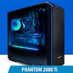 PCCG Phantom 2080 Ti Gaming System