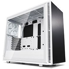 Fractal Design Define S2 White Tempered Glass Case