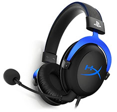 HyperX Cloud Blue Gaming Headset For PS4