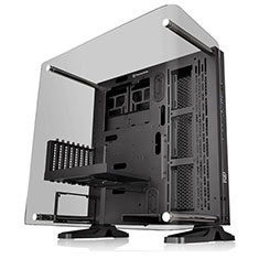 Thermaltake Core P3 TG Curved Edition ATX Open Frame Chassis
