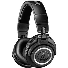 Audio Technica ATH-M50X Bluetooth Over-Ear Headphones