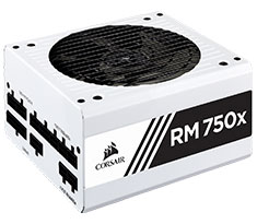 Corsair RM750x Gold 750W Power Supply White