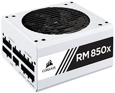 Corsair RM850x Gold 850W Power Supply White