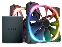 NZXT Aer RGB 2 Twin Starter Kit 140mm