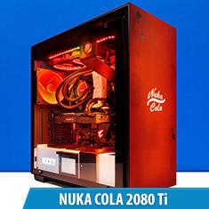 PCCG Nuka Cola 2080 Ti Gaming System
