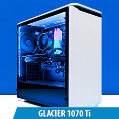 PCCG Glacier 1070 Ti Gaming System
