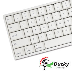 Ducky MIYA Pro Mac Mechanical Keyboard Cherry Red