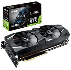 ASUS GeForce RTX 2070 Dual Fan Advanced Edition 8GB