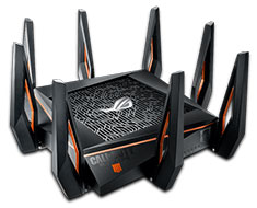 ASUS ROG Rapture GT-AX11000 WiFi Router COD Black Ops 4 Edition