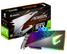 Gigabyte AORUS GeForce RTX 2080 Ti Extreme Waterforce WB 11G