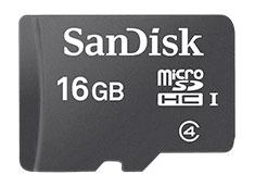 SanDisk microSD Card 16GB