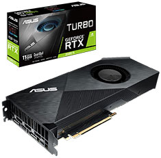ASUS GeForce RTX 2080 Ti Turbo 11GB