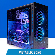 PCCG Metallic 2080 Gaming System