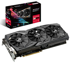 ASUS ROG Radeon RX 590 Strix Gaming 8GB