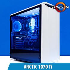 PCCG Arctic 1070 Ti Gaming System