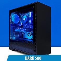 PCCG Dark 580 Gaming System