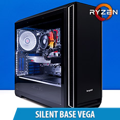 PCCG Silent Base Vega Gaming System