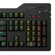 Das Keyboard 4Q RGB Smart Mechanical Keyboard Cherry MX Brown