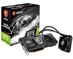 MSI GeForce RTX 2080 Ti Sea Hawk X 11GB