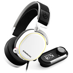 SteelSeries Arctis Pro and GameDAC White
