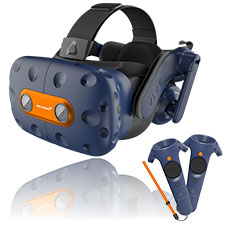 HTC Vive Pro Virtual Reality Headset Kit McLaren Edition