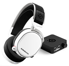 SteelSeries Arctis Pro Wireless Gaming Headset White