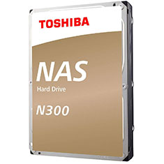 Toshiba N300 NAS HDD 10TB HDWG11AUZSVA