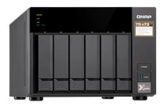 QNAP TS-673 6 Bay NAS with 8GB RAM