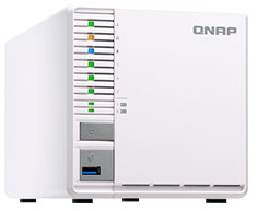 QNAP TS-351-4G 3 Bay NAS with 4GB RAM