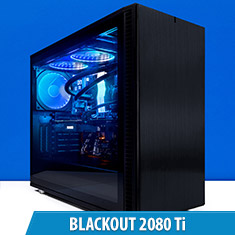 PCCG Blackout 2080 Ti Gaming System