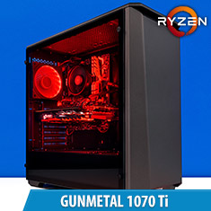 PCCG Gunmetal 1070 Ti Gaming Sytem