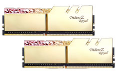 G.Skill Trident Z Royal F4-3000C16D-16GTRG (2x8GB) DDR4 Gold