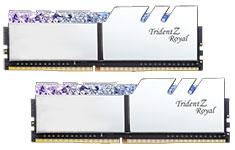 G.Skill Trident Z Royal F4-3200C16D-16GTRS (2x8GB) DDR4 Silver