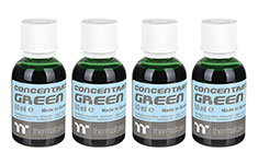 Thermaltake Premium Concentrate Green - 4 Bottle Pack