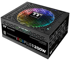 Thermaltake Toughpower iRGB PLUS Platinum 1200W Power Supply