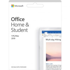 Microsoft Office 2019 Home and Student Medialess Retail Pack