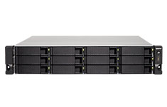 QNAP TS-1232XU 12 Bay 2U Rackmount NAS with 4GB RAM