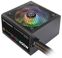 Thermaltake Toughpower GX1 RGB Gold 600W Power Supply