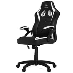 HHGears SM115 Gaming Chair Black & White
