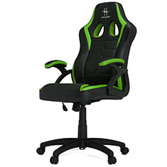 HHGears SM115 Gaming Chair Black & Green