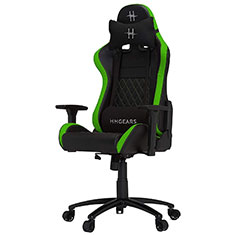 HHGears XL 500 Series Gaming Chair Black & Green